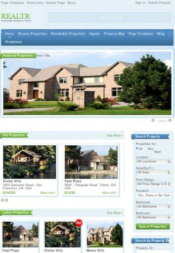 free craigslist templates real estate image search results