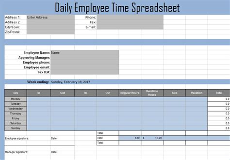 time log sheet time management matrix template time