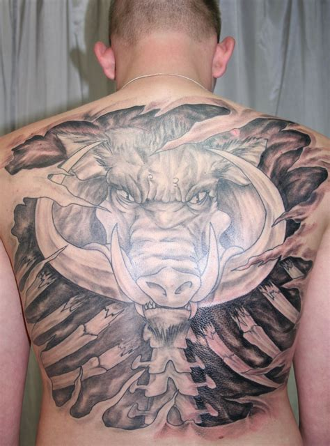 boar tattoo boar by 2face on deviantart