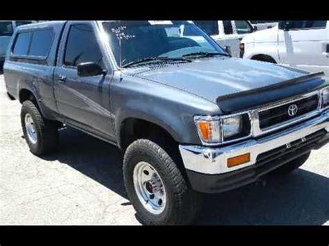 Toyota Tacoma 1994 1994 Toyota Tacoma Regular Cab 4x4 R22 5spd W Shell For