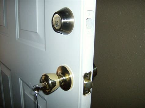 Change Front Door Lock How Sad That I Care More For My House Than My Soul