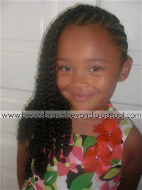 images twist styles for kids beads braids and beyond flat twists to the side