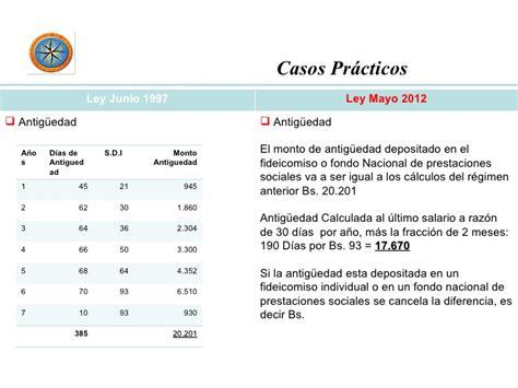 como calcular fideicomiso en venezuela nomina y calculo de prestaciones sociales