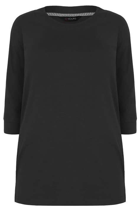 T Shirt S A S Buy Nggifa Name t shirt manches 3 4 couleur noir taille 44 224 64