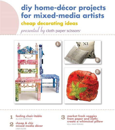 free diy home decor projects for mixed media artists