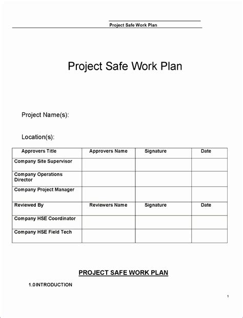 10 Quality Control Plan Template Excel Exceltemplates Exceltemplates Construction Work Plan Template