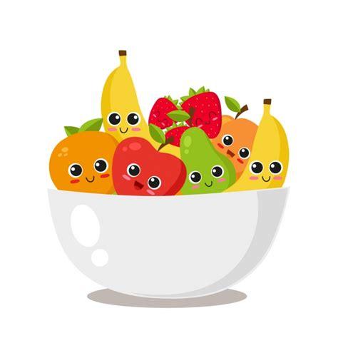 wallpaper cartoon fruit fruit bowl design vector free download