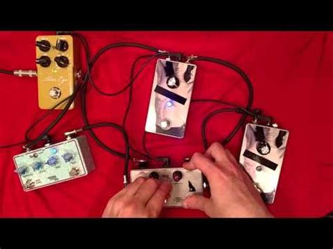 beautiful noise feedbacking tremolo, fuzz oscilation