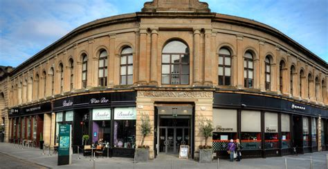 hairdresser glasgow merchant city bars restaurants events merchant square