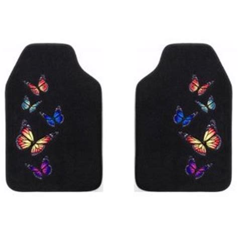 Butterfly Car Mats by Monarch Butterfly Front Floor Mats 2 Pc Set