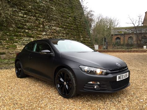 volkswagen scirocco black 2010 vw scirocco 2 0 tdi gt wrapped in satin black motor