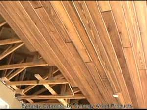Beadboard Planks For Ceiling - wood ceilings 2 youtube