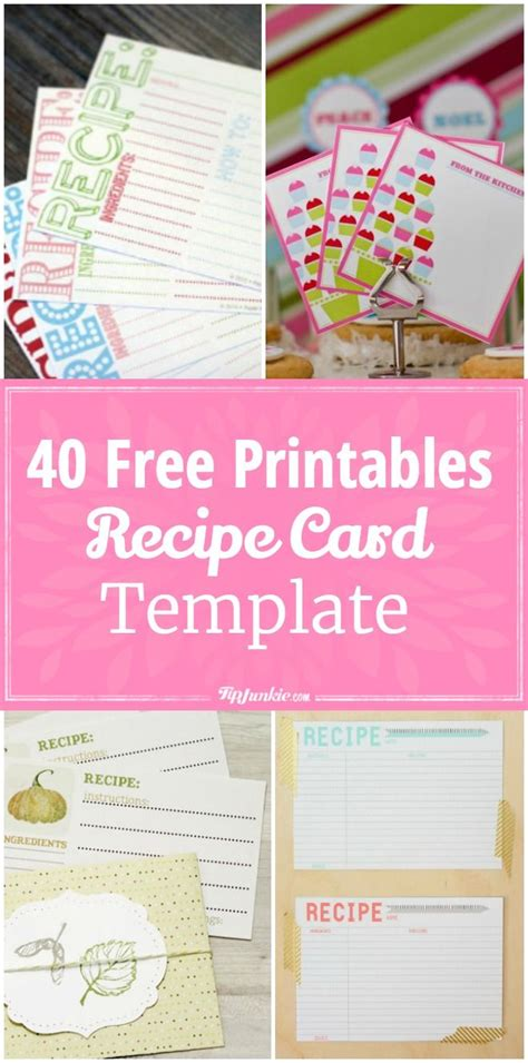 free alzheimer recipe card template 265 best best of tip junkie images on craft