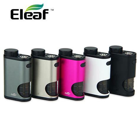 Eleaf Pico Squeeze Bottle Spare Parts 100 original 50w eleaf pico squeeze box mod with refillable squonk bottle of 6 5ml large