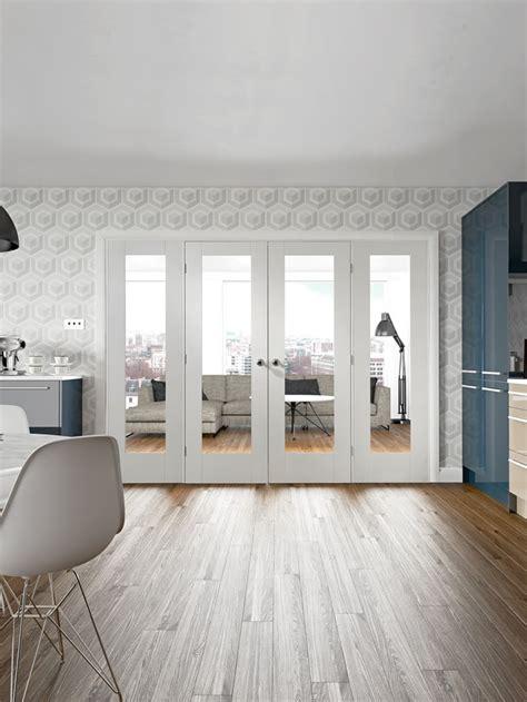 pattern 10 white glazed door pattern 10 internal white primed door with clear glass