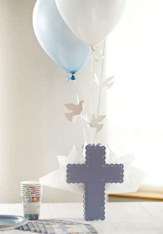 communion balloon centerpieces cross centerpieces christening table decorations baptism balloon decorations settocelebrate