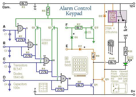 how to build a simple alarm keypad
