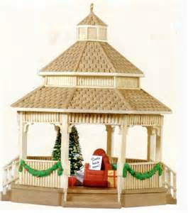Christmas Tree Shop Gazebo by Hallmark Keepsake Christmas Ornaments 2013 1959 Gilham