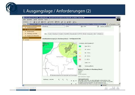 Bnd Bewerbung Duales Studium Breitbandversorgung Im Landkreis Harz
