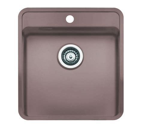 coloured kitchen sinks reginox regi color ohio 40x40 tapwing coloured stainless