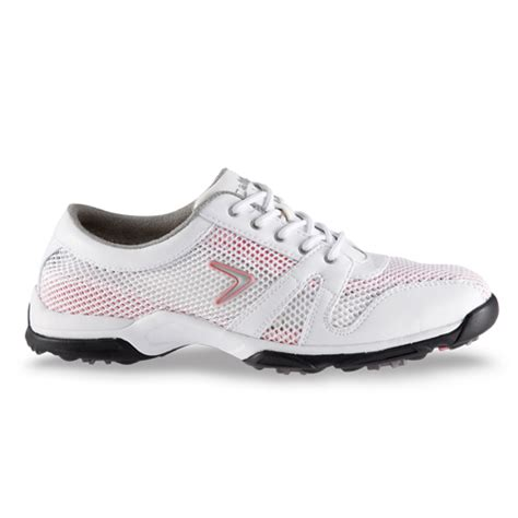 callaway 2012 solaire womens golf shoes white pink at