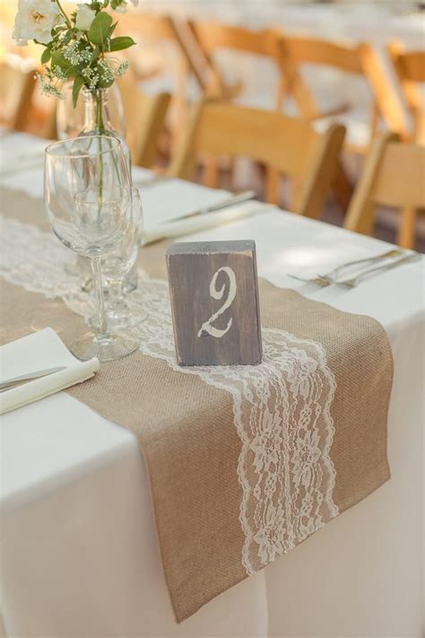 burlap table runners with lace for sale 45 chic rustic burlap lace wedding ideas and inspiration