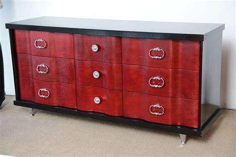 Mid Century Bassett Dresser by Mid Century Regency Glamourous Dresser By