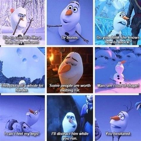 best frozen film quotes olaf quotes disney frozen all things disney pinterest
