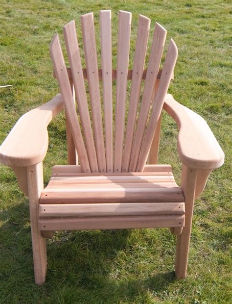 tuinstoel hout bol 24designs red cedar single seat 1 persoons