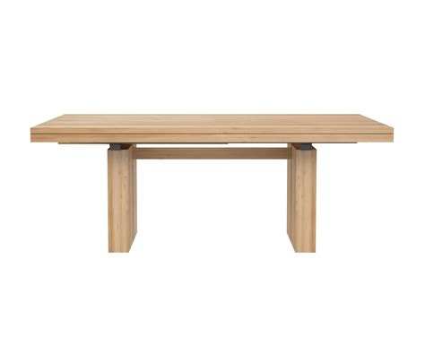 Extendable Oak Dining Table Oak Extendable Dining Table Restaurant Tables From Ethnicraft Architonic