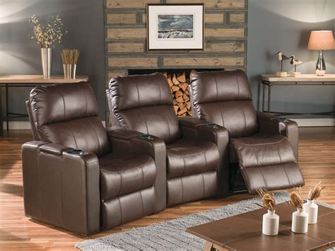 elite home theater seating 183 leather express furniture