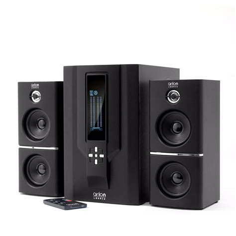 powered  speaker  subwoofer  remote  pc home