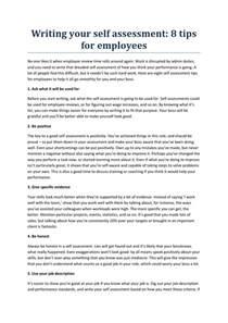 Self Assessment Essay Sample Writing Your Self Assessment By Holymoleyjobs Uk Jobs