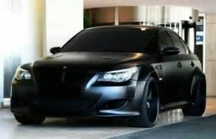 bmw e60 m5 matte black bmw ultimate driving machine
