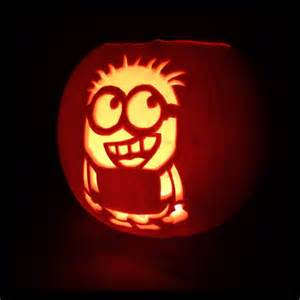 minion pumpkin carving template who is ready for and has their minion pumpkins