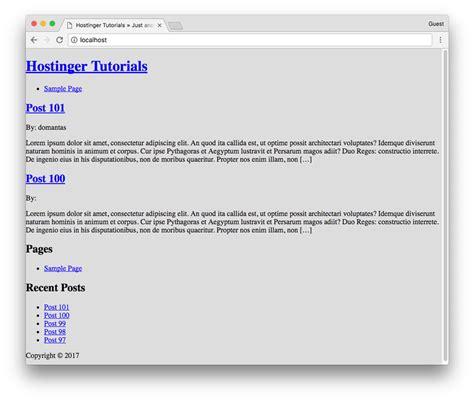 membuat header wordpress bergerak cara membuat tema wordpress responsive menggunakan html5