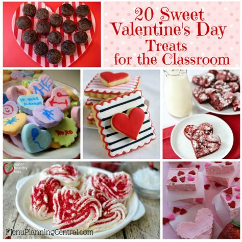 day treats for 20 sweet s day treats for the classroom menu