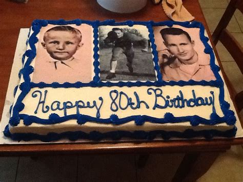 birthday cake ideas  men love   personalized    edible photo images