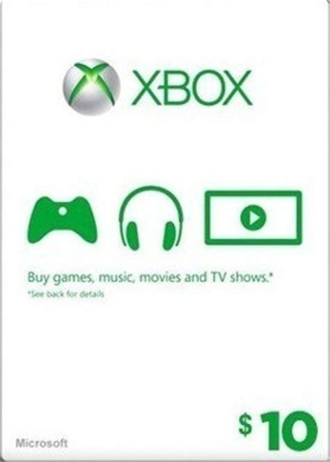 10 Xbox Gift Card - free 10 xbox live gift card w gin video game prepaid cards codes listia com