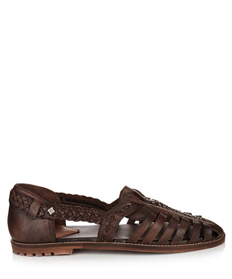 mens sandals sale s brown leather woven sandals sale feud