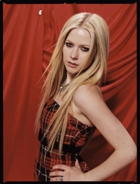 Avril Lavigne Does Cosmo by Liddell Photoshoot Cosmo 2007 Avril Lavigne