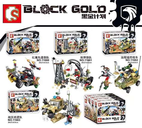 downtheblocks sembo block 11660 11663 block gold sets preview