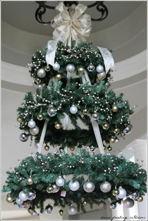 christmas tree without ornaments make them wonder hanging christmas tree would be a
