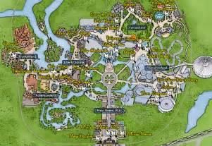 Map Of Magic Kingdom Disney World by Disney World Resort Map 2014 Viewing Gallery