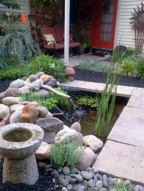 small backyard pond koi ponds