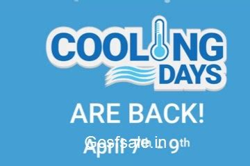 flipkart cooling days (07 09 april) – best deals on acs