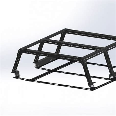 camburg toyota tacoma pre/4wd '05 18 cte rear bed rack