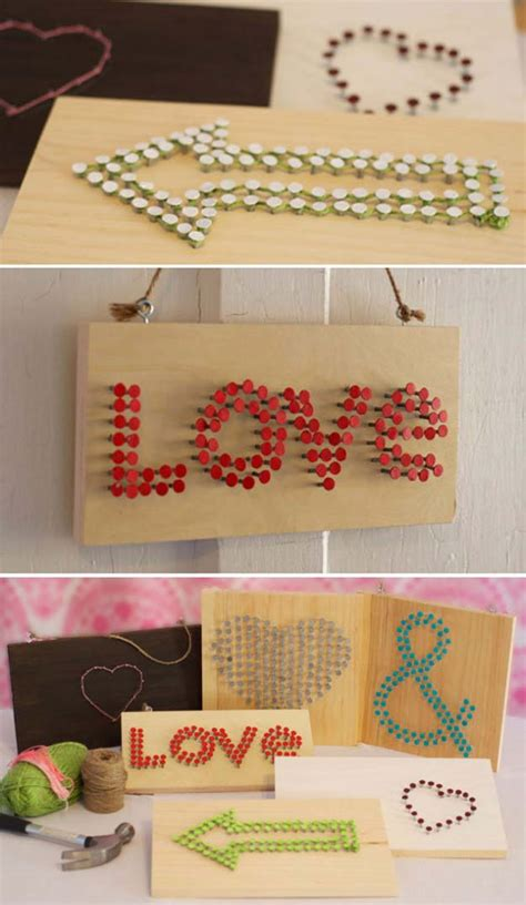 Nail And String - 33 brilliant and colorful crafts for to realize