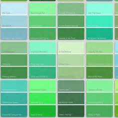 shades of green color chart green color names