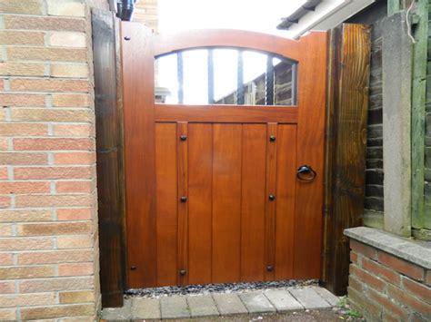 Modern Garden Design gate sets hardwood gates wooden gates bespoke gates